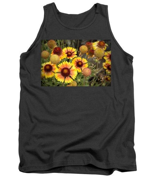 Blanket Flowers  Tank Top