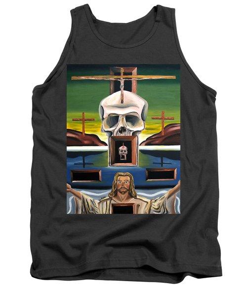 Blasphemixition Tank Top by Ryan Demaree