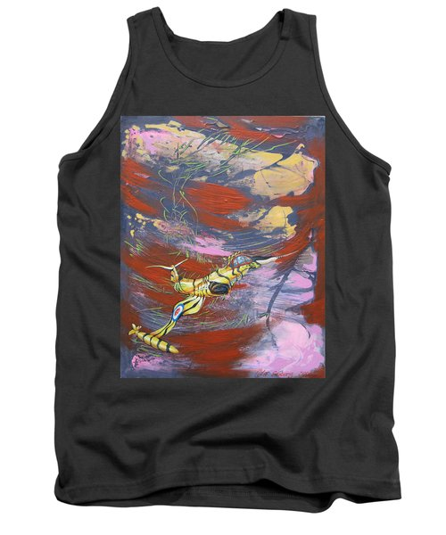 Blazing Starfighter Tank Top