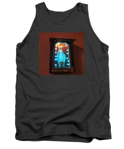 Blessed Mary - New Orleans La - Www.rocknbowl.com Tank Top