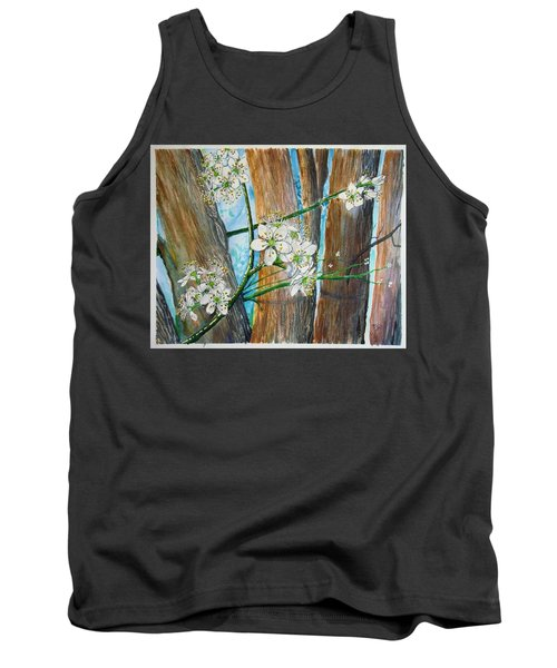 Blooms Of The Cleaveland Pear Tank Top
