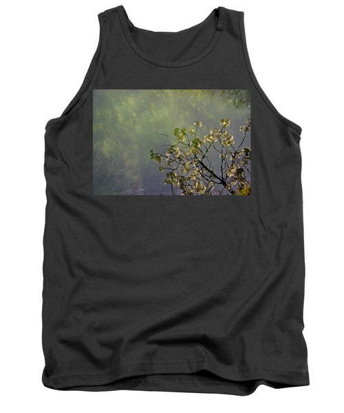 Tank Top featuring the photograph Blossom Reflection by Marilyn Wilson