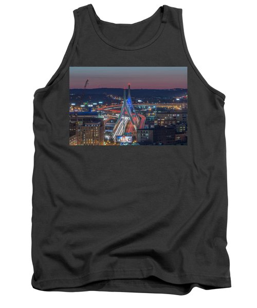 Blue And Red Zakim Tank Top