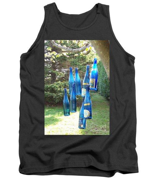 Blue Bottle Tree Tank Top by Jackie Mueller-Jones
