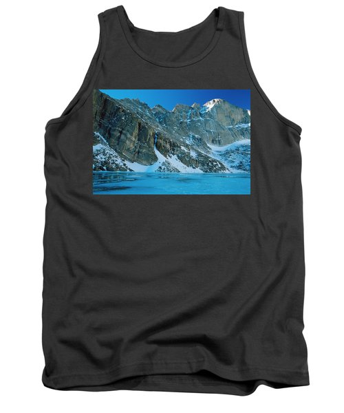 Blue Chasm Tank Top by Eric Glaser