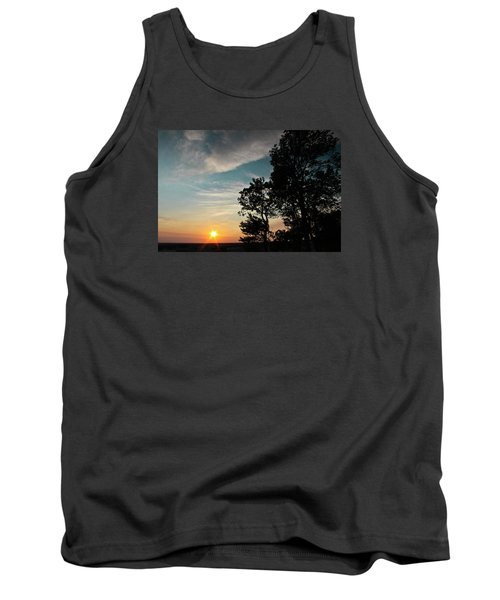 Tank Top featuring the photograph Blue Heaven Sunset by Julie Andel