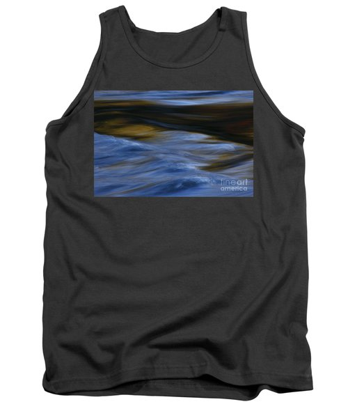 Tank Top featuring the photograph Blue Georgia Impressions by John F Tsumas
