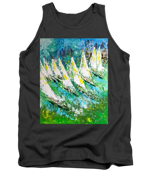 Blue Moon Chicago - Sold Tank Top by George Riney