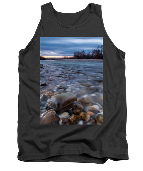 Tank Top featuring the photograph Blue Morning by Davorin Mance