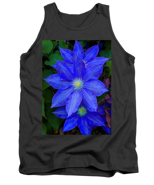 Blue On Blue Tank Top