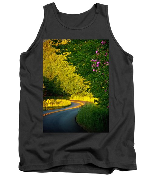 Tank Top featuring the photograph Blue Ridge Afternoon by John Haldane