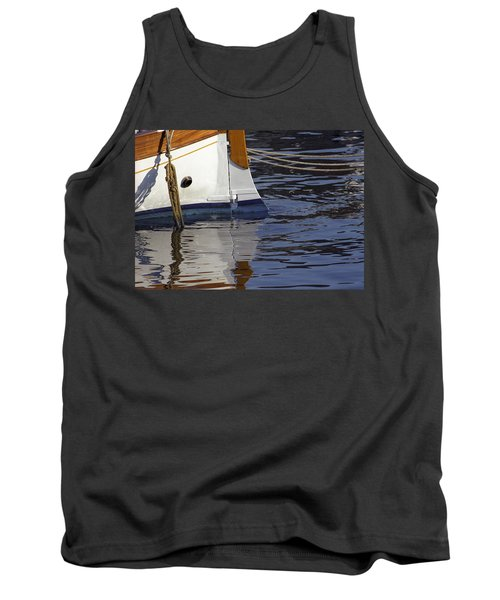 Blue Rudder Tank Top