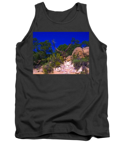Blue Sky Over The Canyon Tank Top