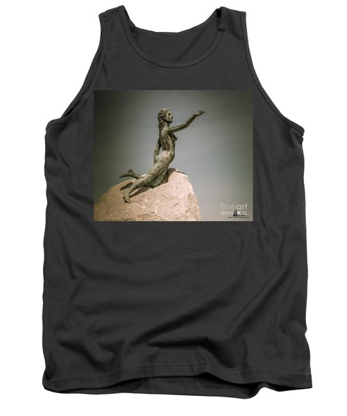 Blue Water Maiden Tank Top