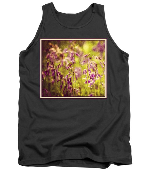 Bluebell In The Woods Tank Top
