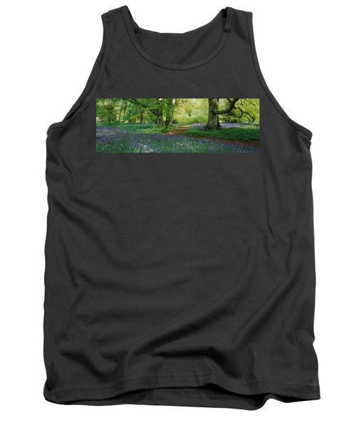 Bluebells In A Forest, Thorp Perrow Tank Top