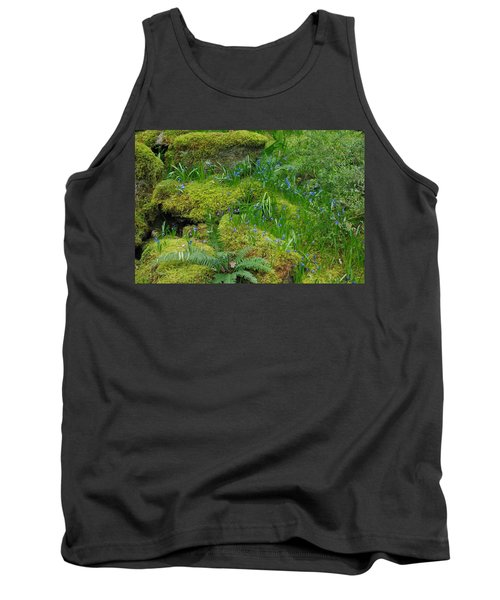 Tank Top featuring the photograph Bluebells  by Marilyn Wilson