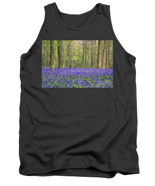 Bluebells Surrey England Uk Tank Top