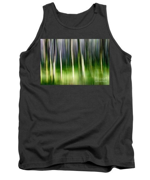 Tank Top featuring the photograph Blurred by Juergen Klust