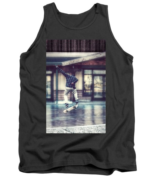 Boarder Bliss Tank Top by Melanie Lankford Photography