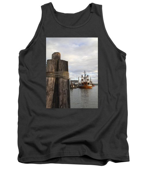 Tank Top featuring the photograph View From The Pilings by Suzy Piatt