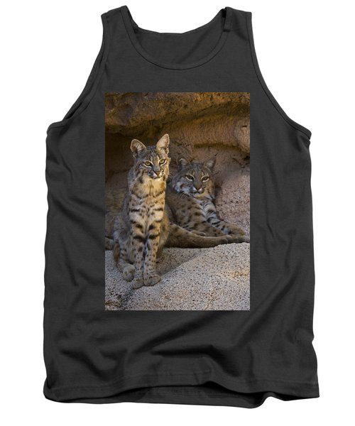 Tank Top featuring the photograph Bobcat 8 by Arterra Picture Library