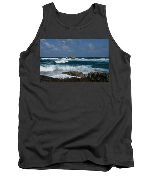 Boiling The Ocean At Laie Point - North Shore - Oahu - Hawaii Tank Top