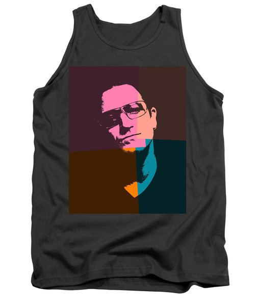 Bono Pop Art Tank Top by Dan Sproul