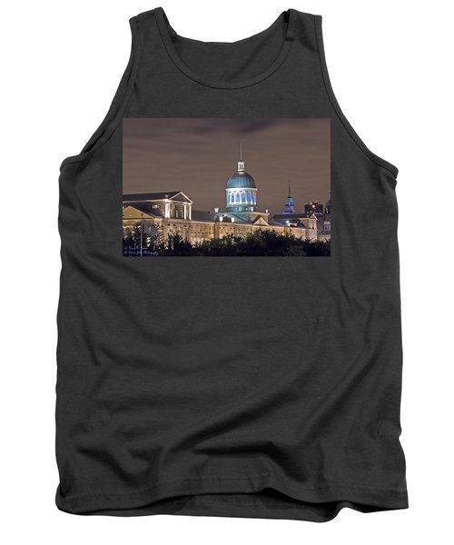 Bonsecours At Night Tank Top