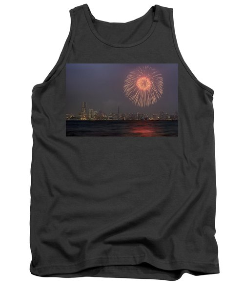 Tank Top featuring the photograph Boom In The Sky by John Swartz