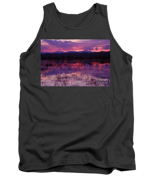Bosque Sunset - Purple Tank Top