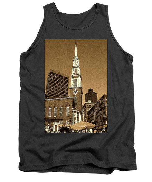 Boston Park Street Church Tank Top