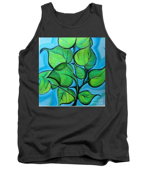 Botanical Leaves Tank Top