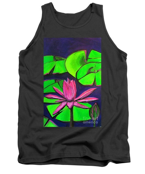Botanical Lotus 1 Tank Top