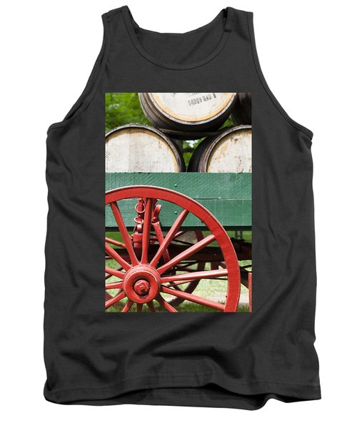 Bourbon Wagon Tank Top by Alexey Stiop