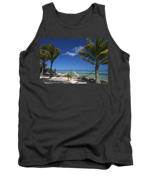 Breezy Island Life Tank Top by Adam Romanowicz
