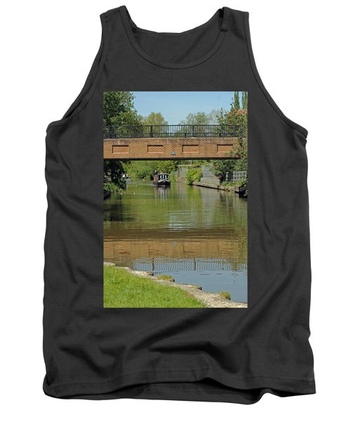 Bridge 238b Oxford Canal Tank Top by Tony Murtagh