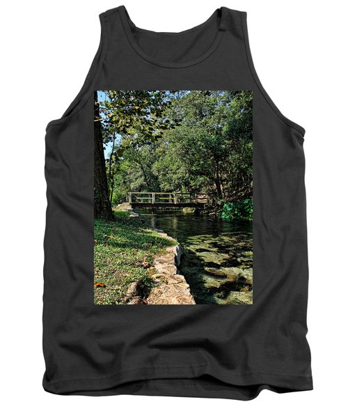 Bridge Of Serenity Tank Top by Judy Vincent