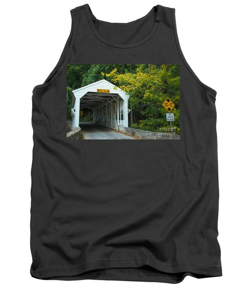 Tank Top featuring the photograph Bridge On Route 252 In Valley Forge by Rima Biswas