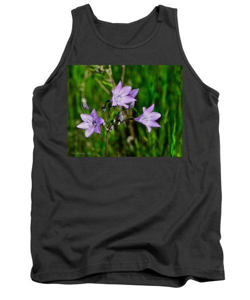 Tank Top featuring the photograph Bridges' Triteleia by Jim Thompson