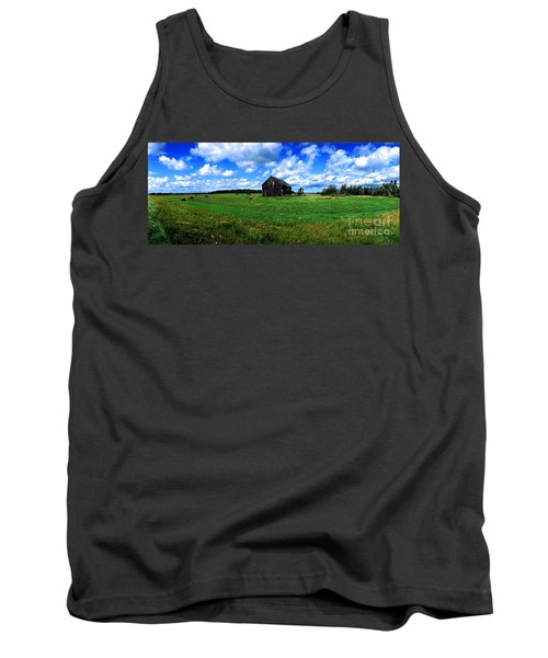 Brimley Farm Near  Sault Ste Marie Michigan  Tank Top