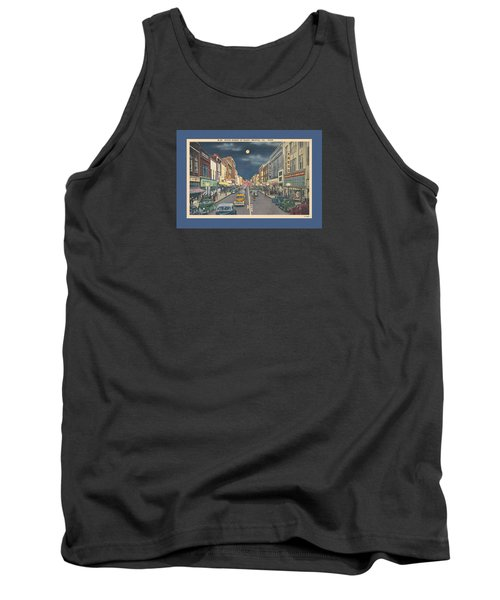Bristol At Night In The 1940's Tank Top