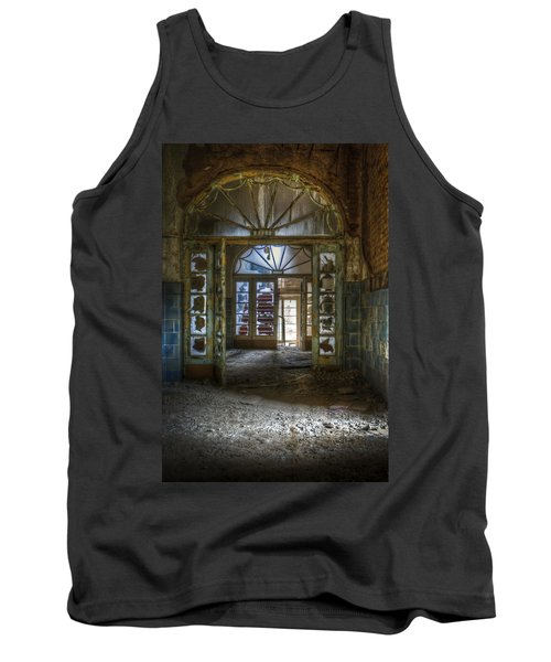 Broken Beauty Tank Top by Nathan Wright