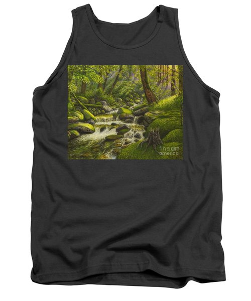 Brook In The Forest Tank Top