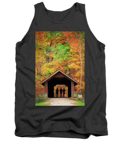 Brush Creek Covered Bridge Tank Top