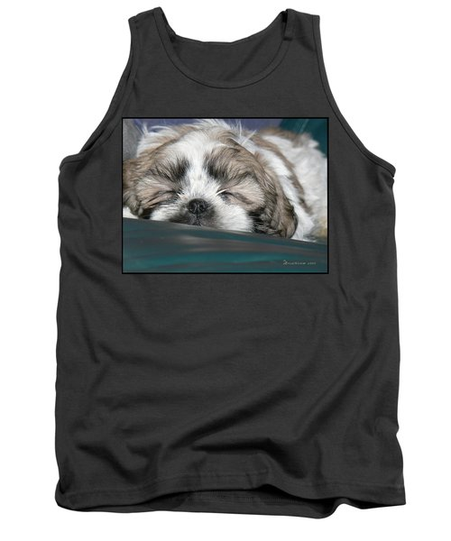 Tank Top featuring the photograph Bubba by EricaMaxine  Price