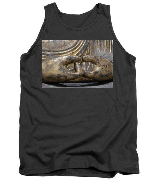 Buddha 3 Tank Top by Lynn Sprowl