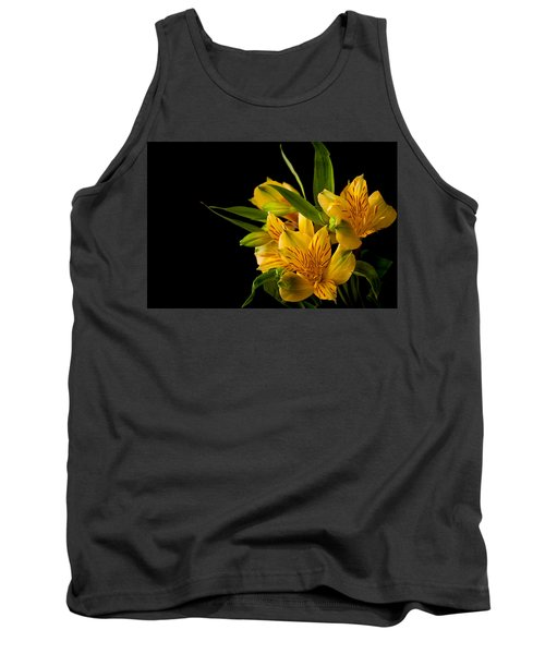 Tank Top featuring the photograph Budding Flowers by Sennie Pierson