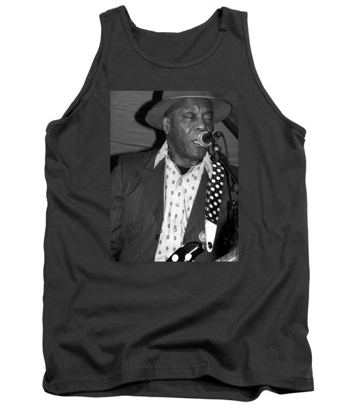 Buddy Guy Sings The Blues Tank Top