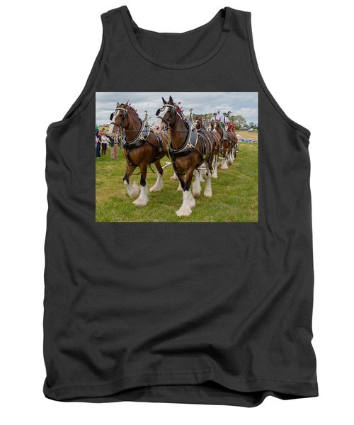 Budweiser Clydesdales Tank Top